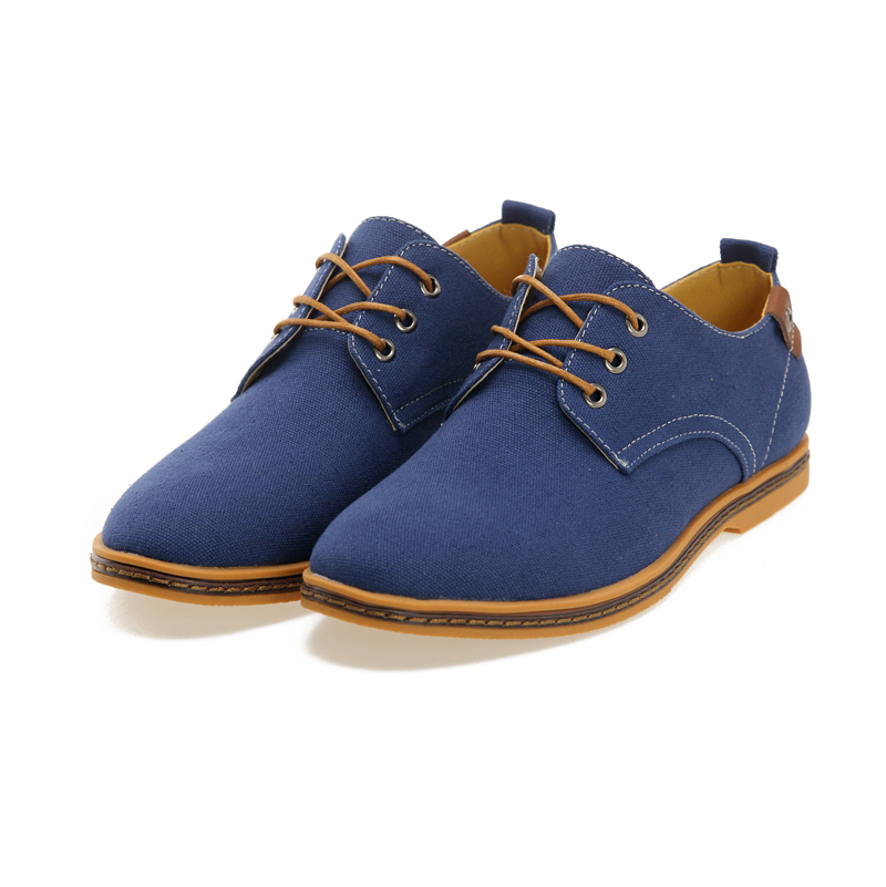 Men's Canvas Oxford Casual Shoe