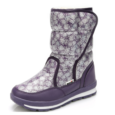 Girl's Boy's Waterproof Outdoor Cold Weather Snow Boots